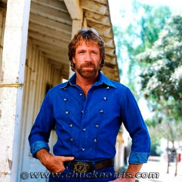 Chuck Norris doesn't endorse, he tells Montgomery County how it's going to be.