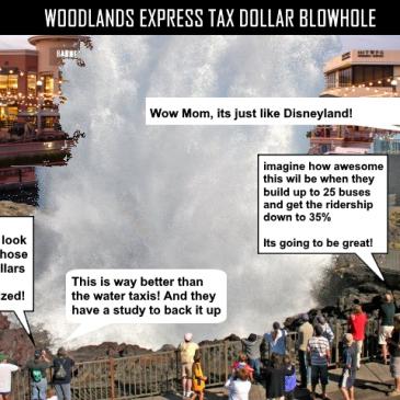 WOODLANDS EXPRESS TAX DOLLAR BLOWHOLE