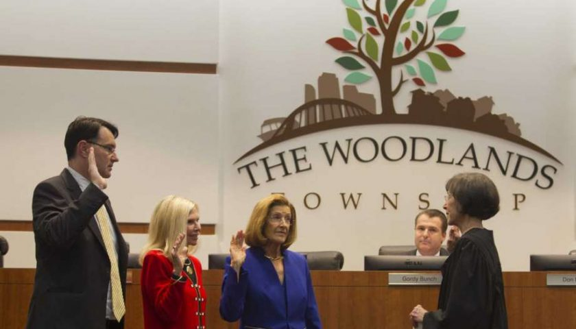 Woodlands board haggles over property tax rate, begrudgingly OKs lower rate