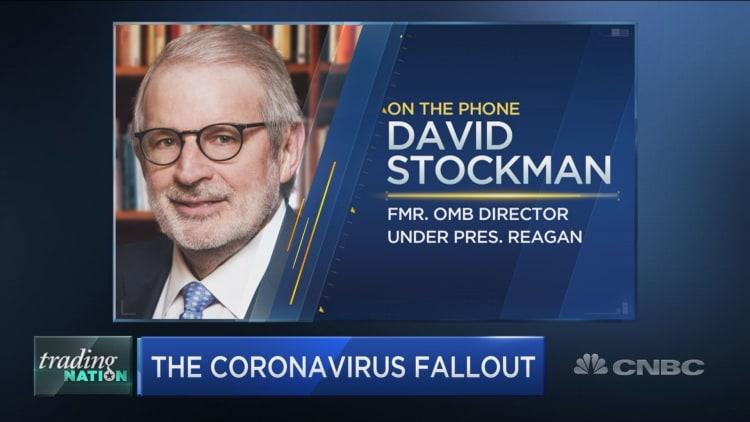 David Stockman: 'Wall Street is toast' in coronavirus chaos