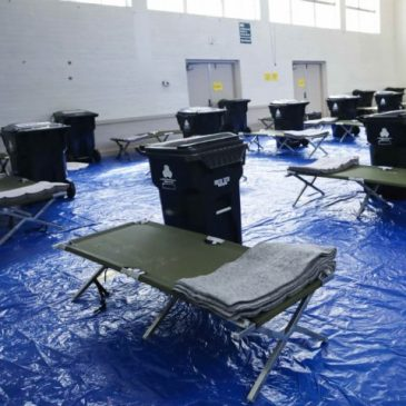 CDC: Japanese Data Show Indoor Coronavirus Transmission 18.7 Times Likelier, as Garcetti Moves L.A. Homeless to Rec Centers