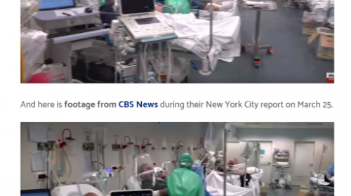 CBS News Caught Using Footage from an Italian Hospital to Portray Conditions in New York City